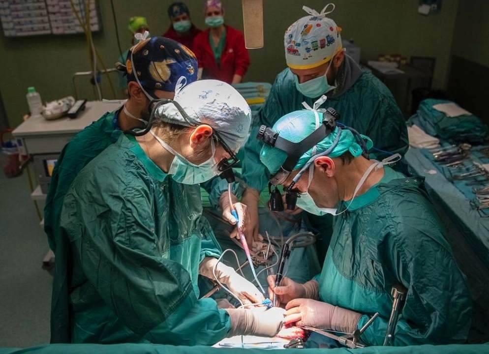 quattro trapianti su quattro pazienti