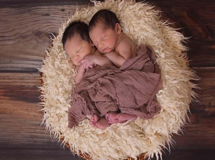 3 coppie di gemelli