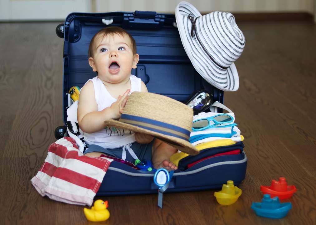 valigia bambini cose che possono essere utili