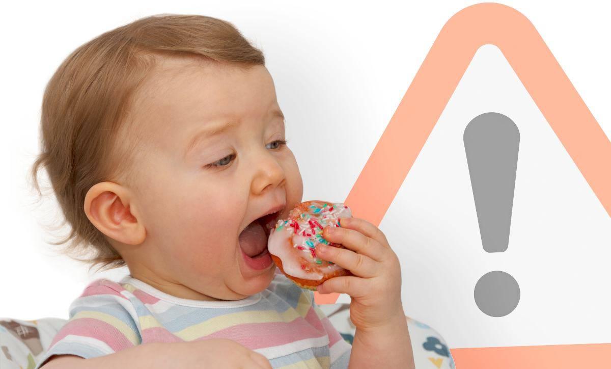 vietato zucchero prima dei due anni