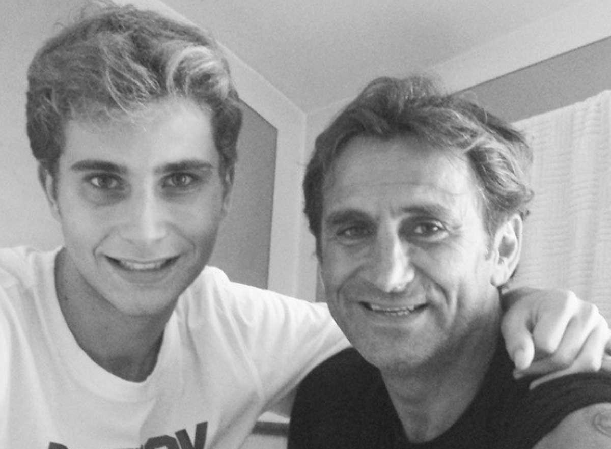Alex Zanard ed il figlio Niccolò