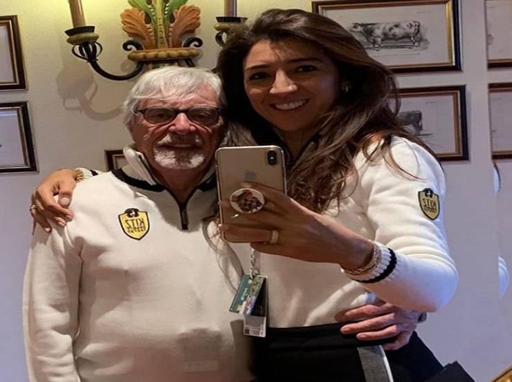 Bernie Ecclestone papà