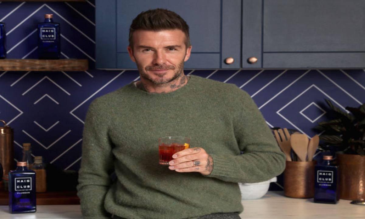 David Beckham video figlia