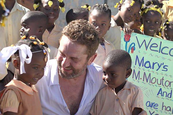 gerard butler mary's meals film