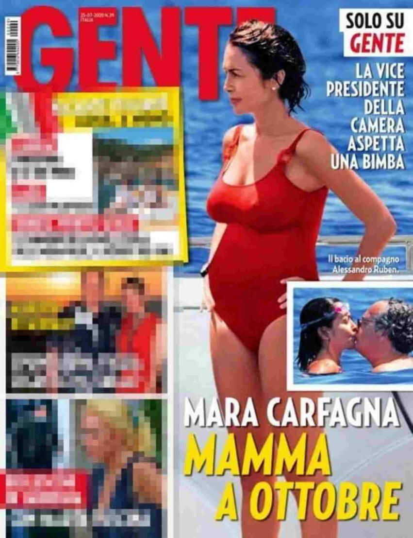 Mara Carfagna gravidanza