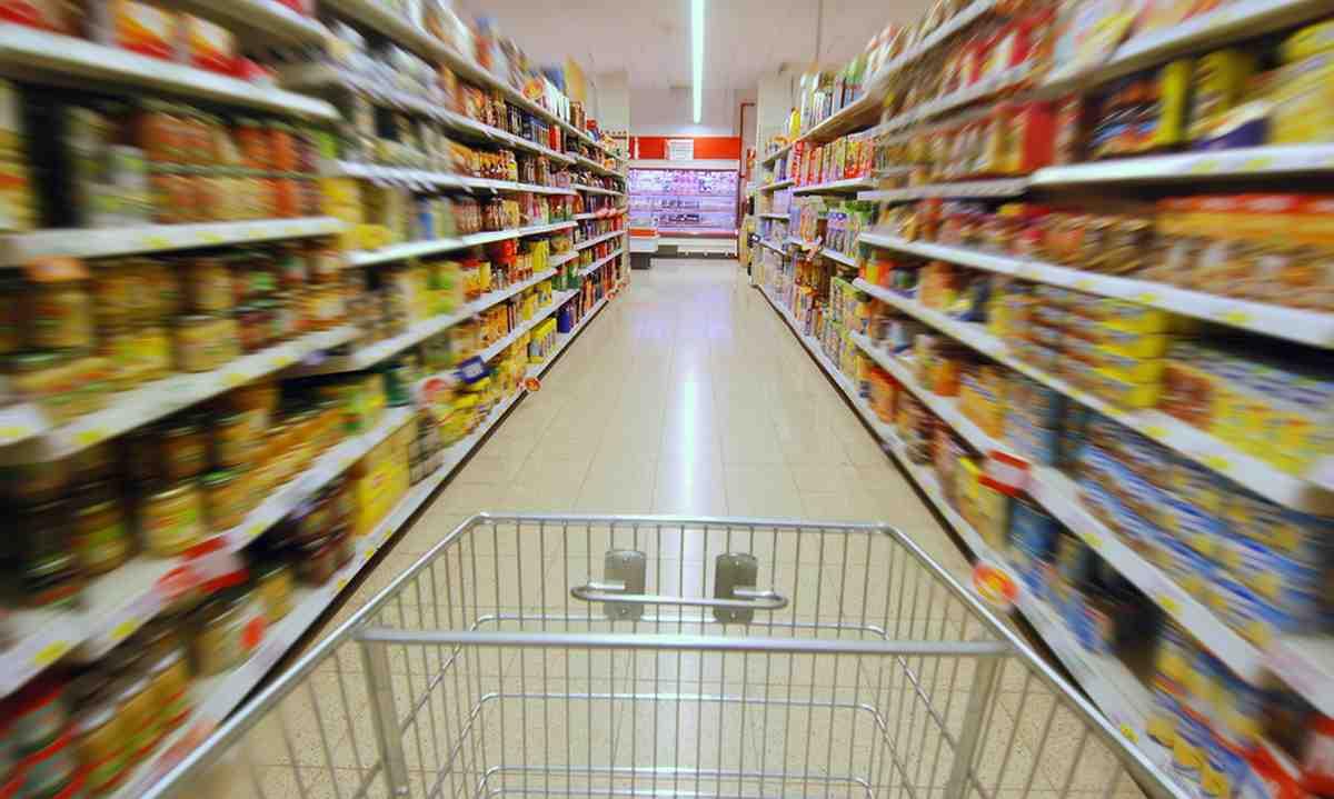Supermercato per richiamo