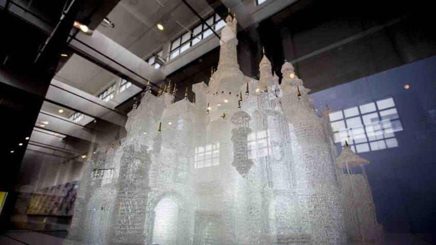 Museo del vetro di Shangai danni