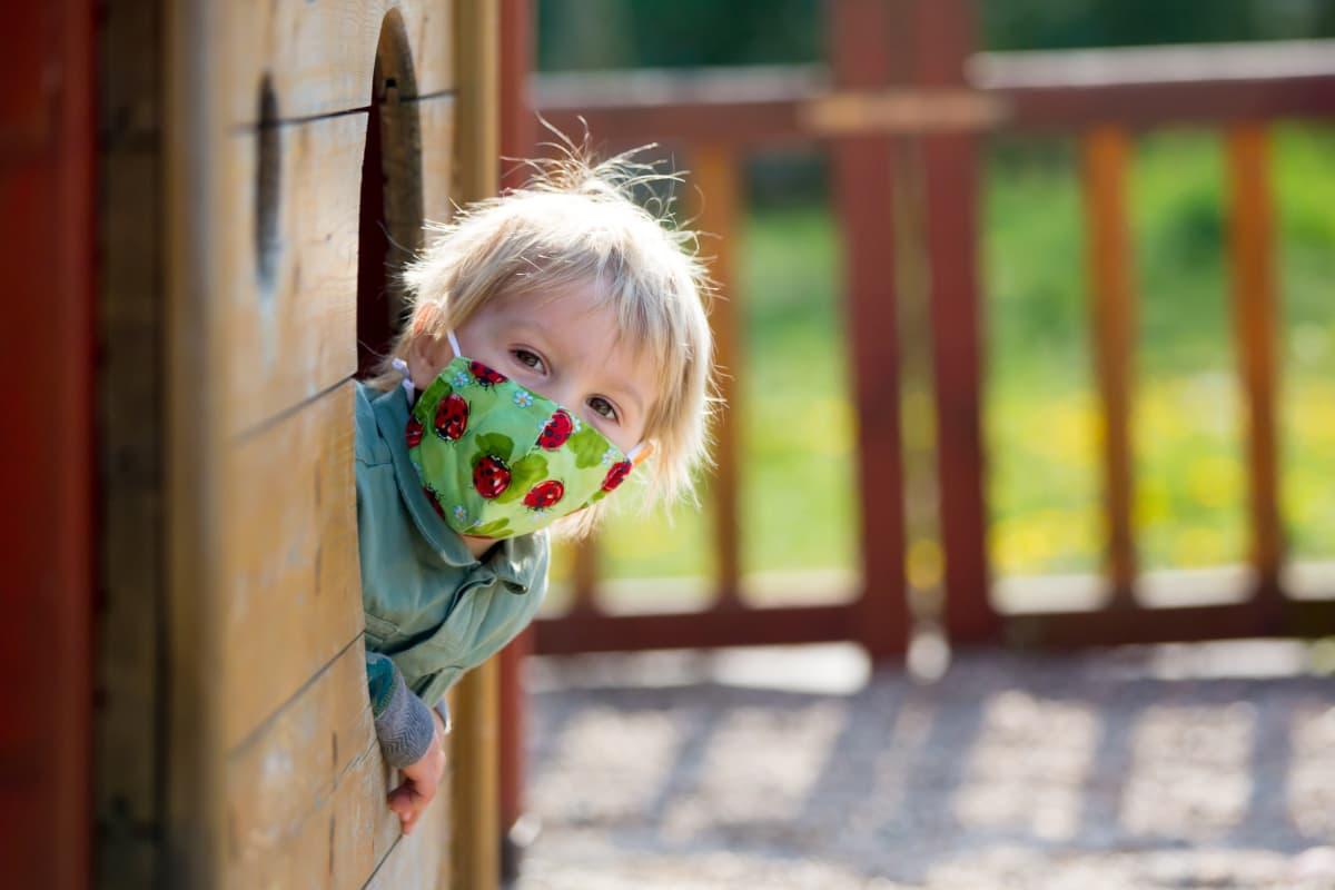 estate coronavirus salute bambini