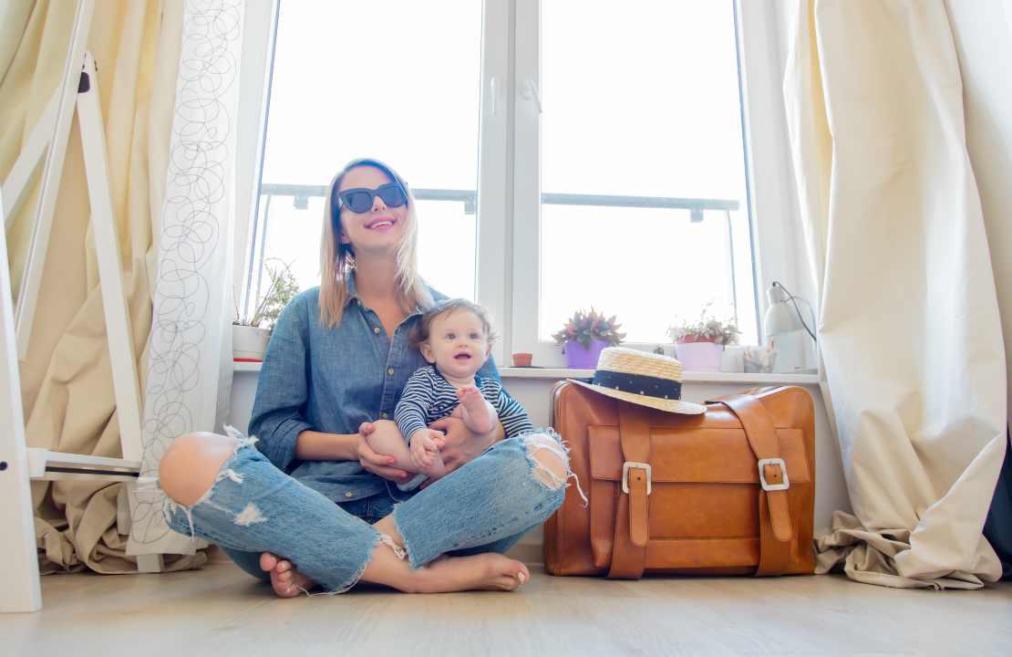 pappa dei neonati in viaggio consigli