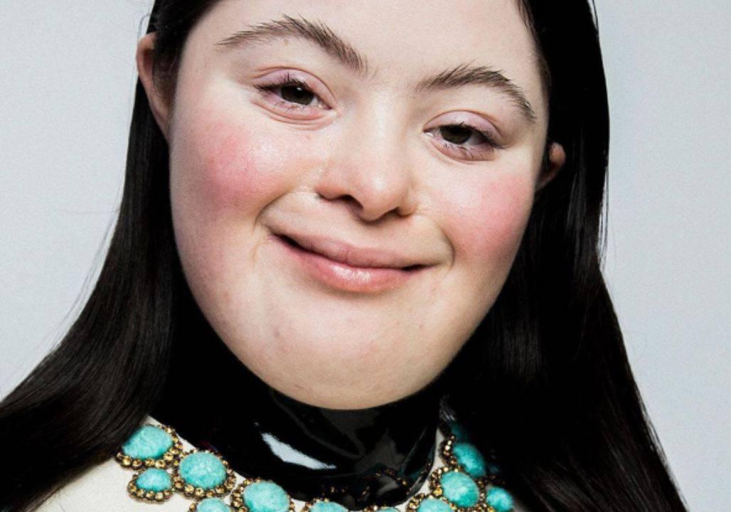 Ellie nuovo volto sindrome down