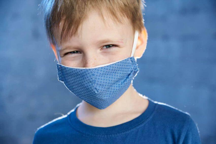 mascherine bambini contagiosi