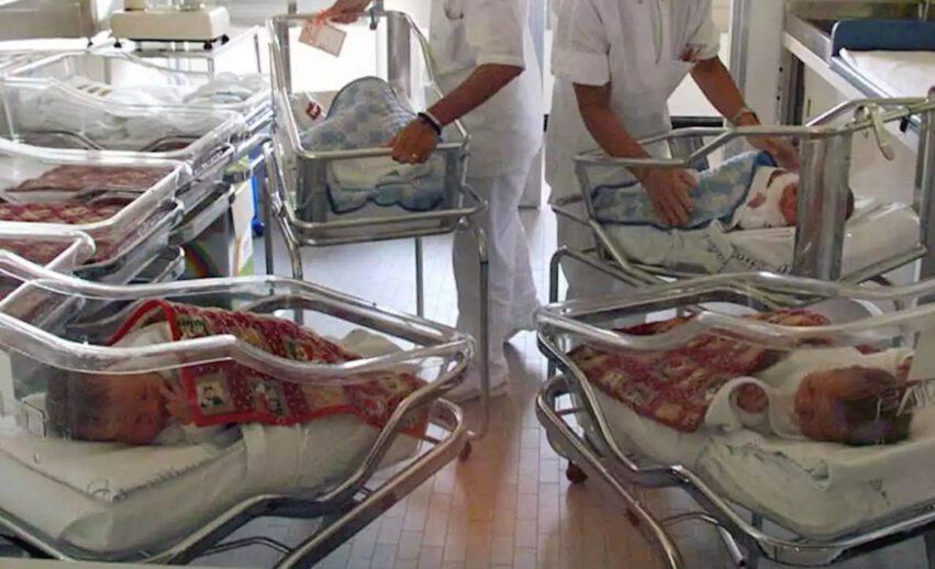 Moncalieri nati 7 bambini in 10 ore
