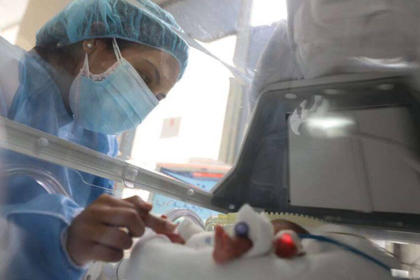 prematuro 23 settimane e con coronavirus