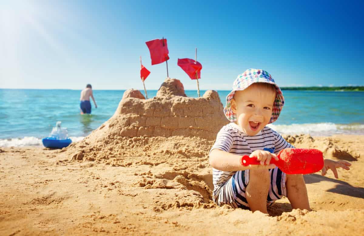 spiagge bambini mare italia
