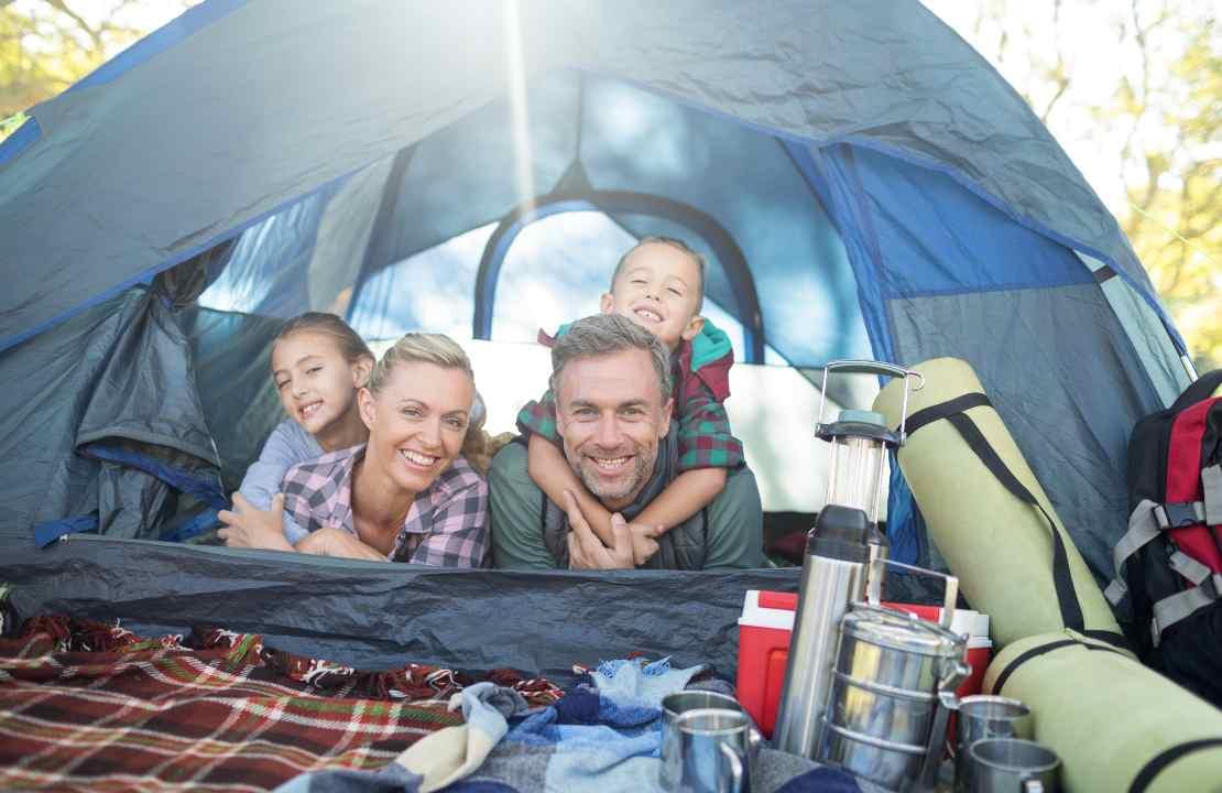 campeggio famiglia