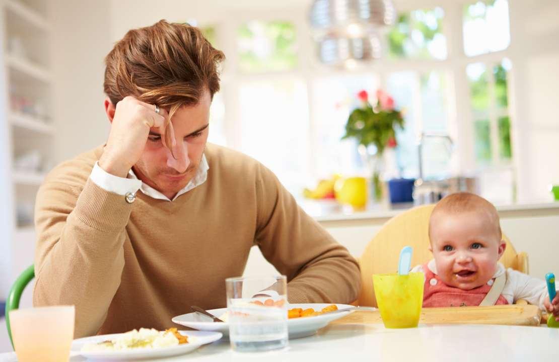 se il bambino non mangia