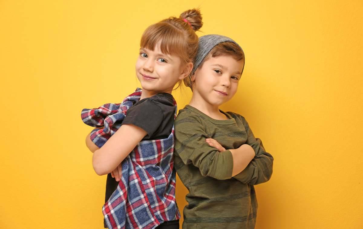 moda genderless bambini e ragazzi