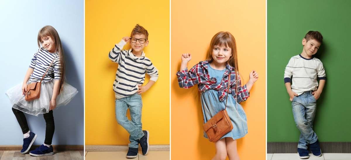 moda genderless bambini