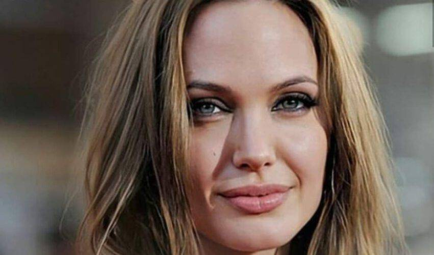 Angelina Jolie lockdown