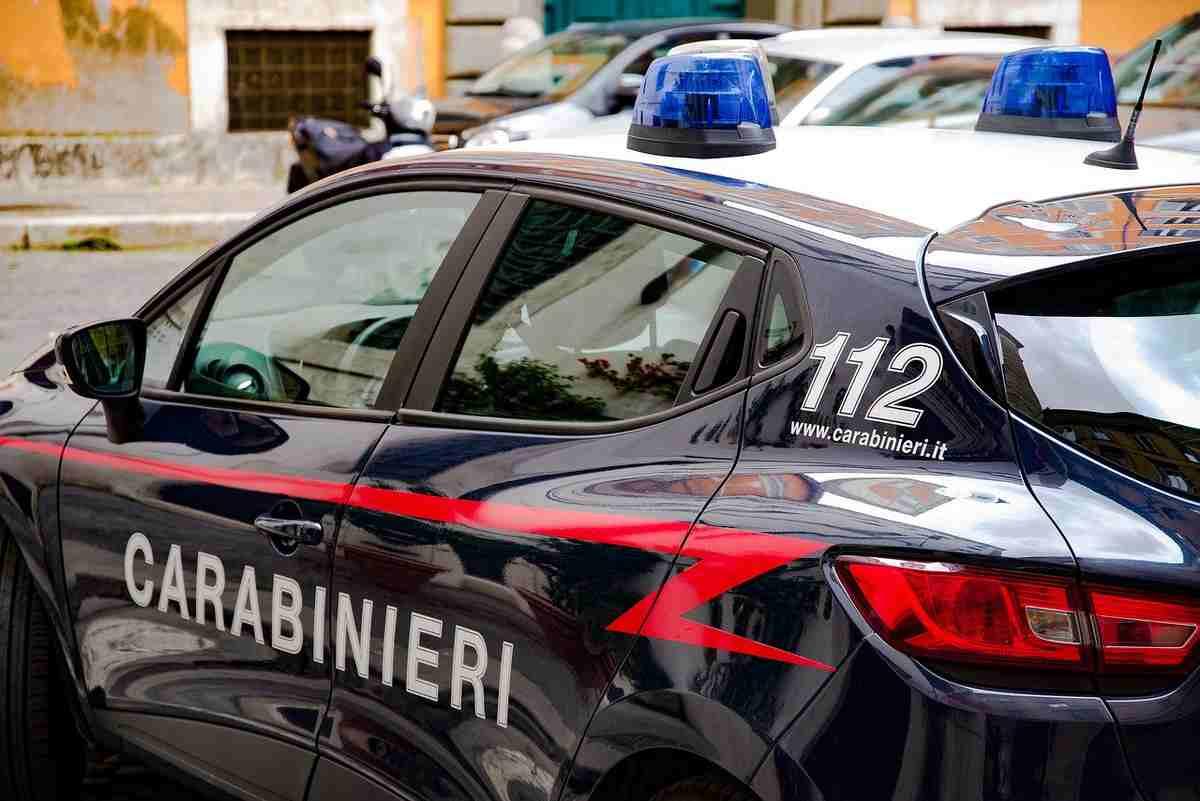 Salvano bambino i Carabinieri