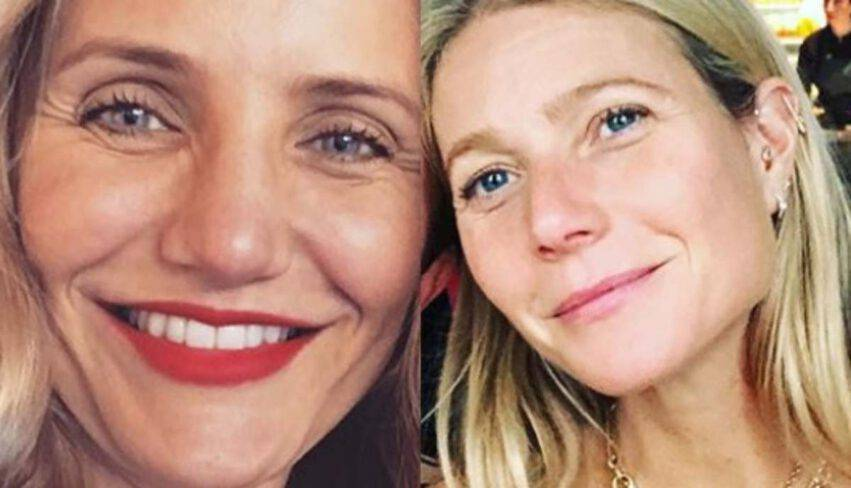 Cameron Diaz e Gwyneth Paltrow su maternità