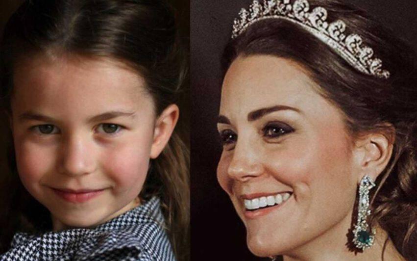 Charlotte età giusta per la tiara