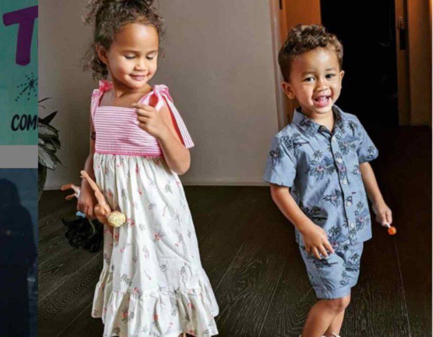 figli di Chrissy Teigen e John Legend (1)