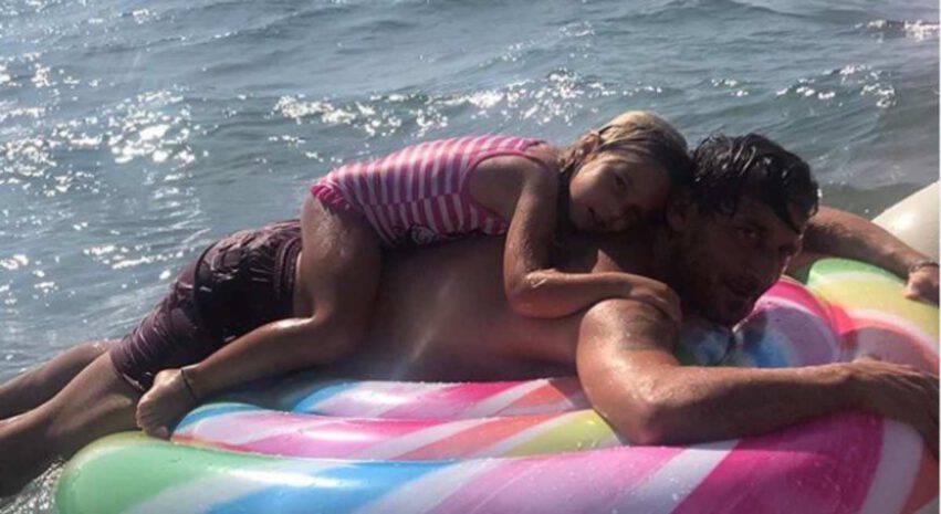 Francesco Totti e Ilary Blasicoi figli