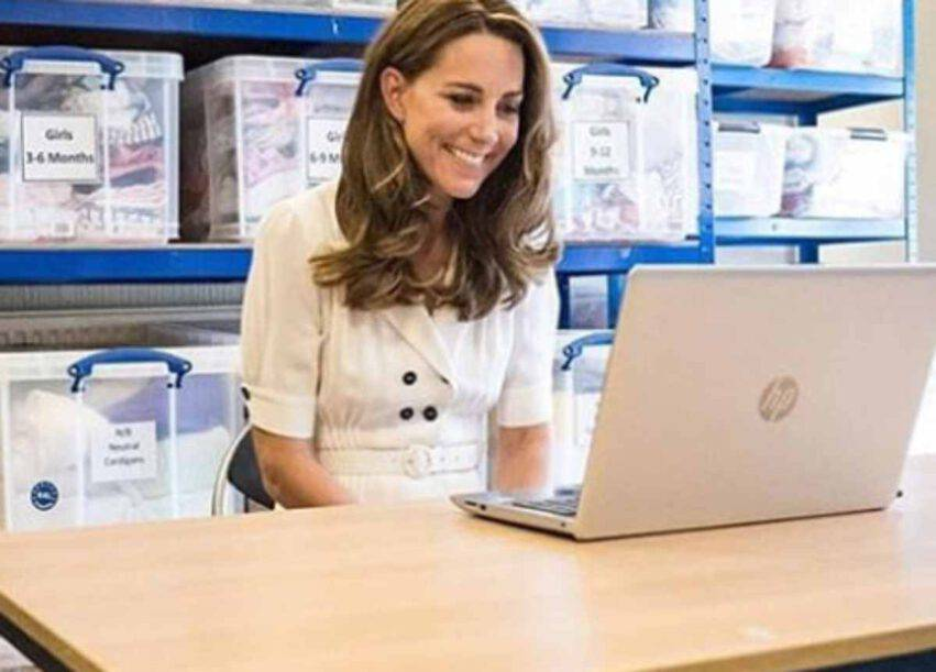 Kate Middleton per i bisognosi