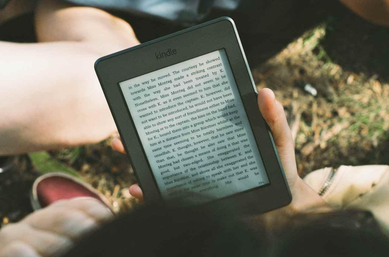 Kindle (fonte unsplash)