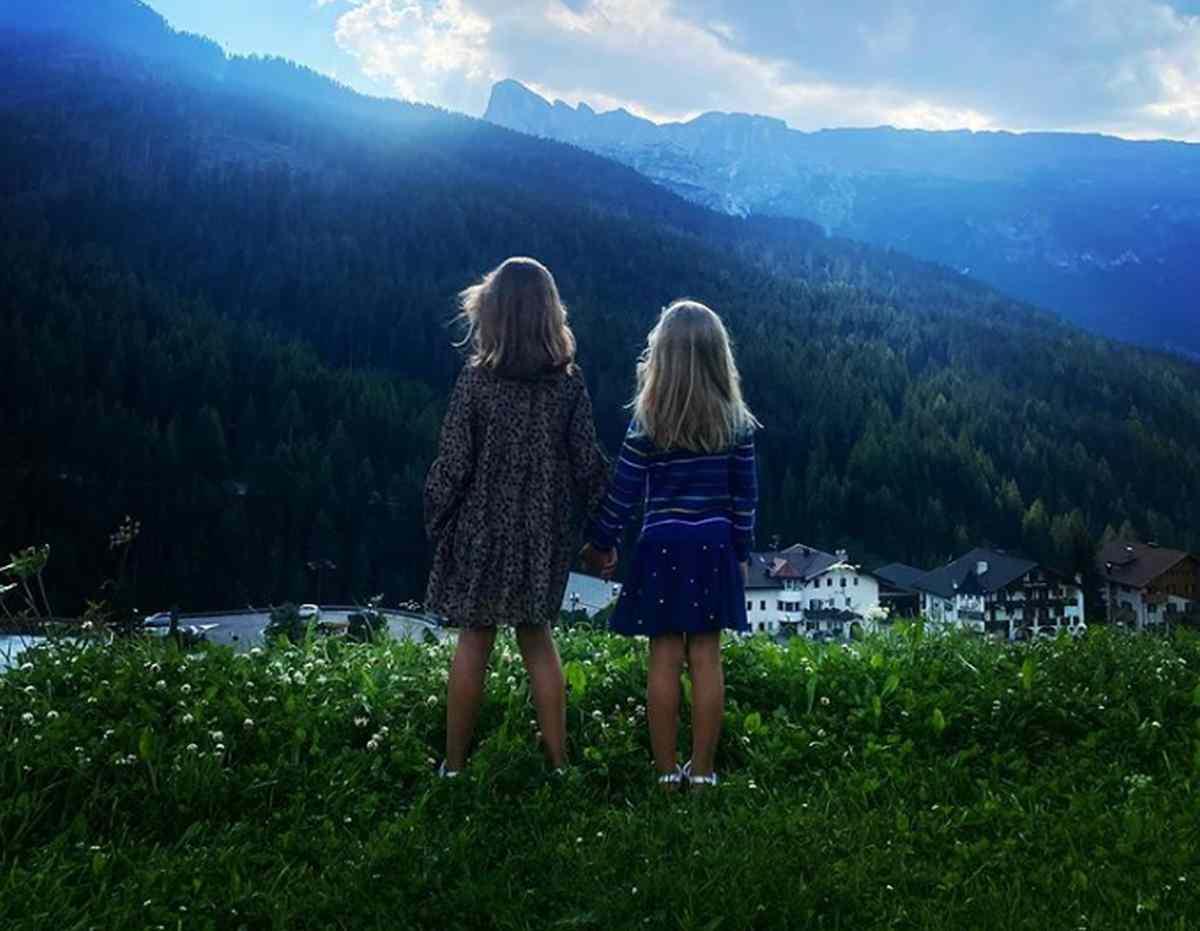 Le figlie di Michelle Hunziker