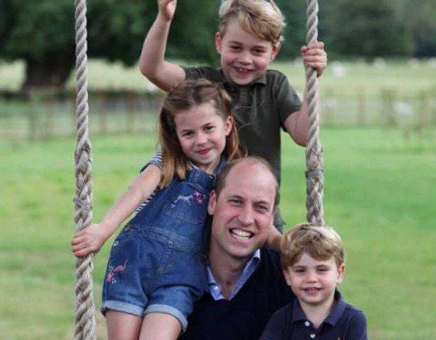 Principe William homeschooling