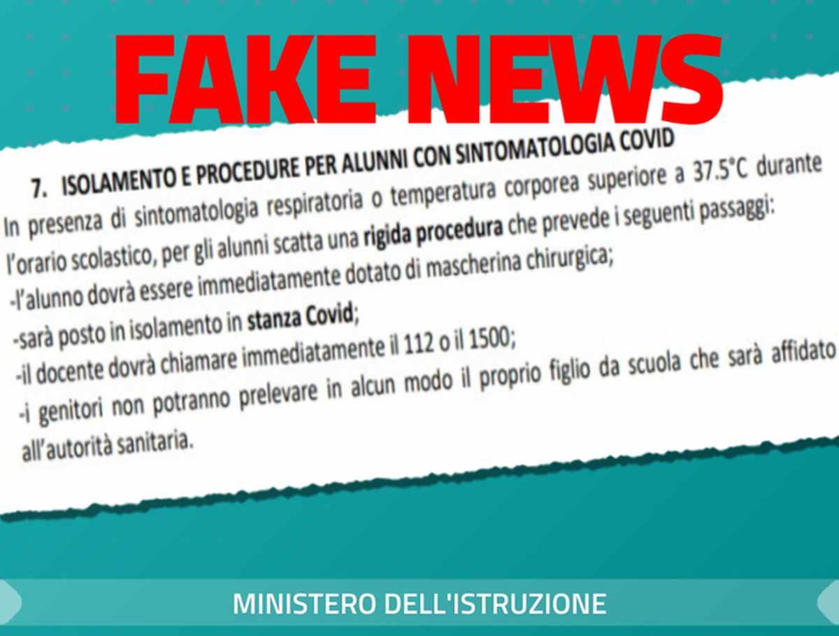 Fake news scuola