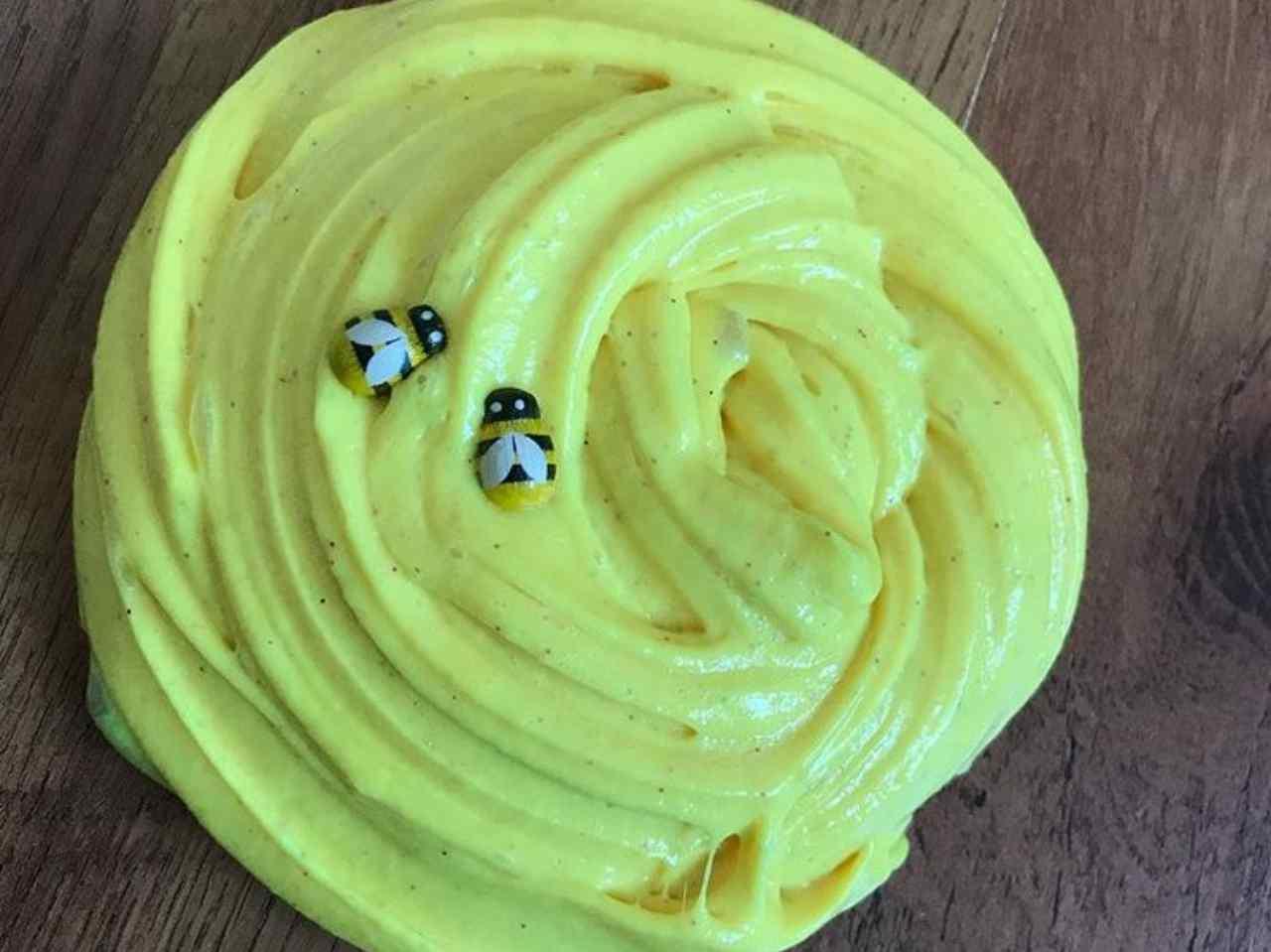 Slime giallo (fonte Instagram @xxslime_artistsxx)