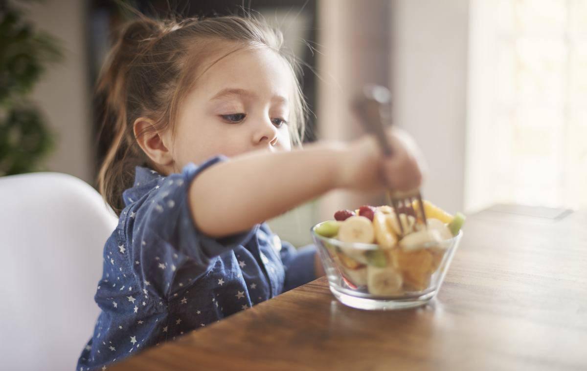 alimentazione biologica per i bambini