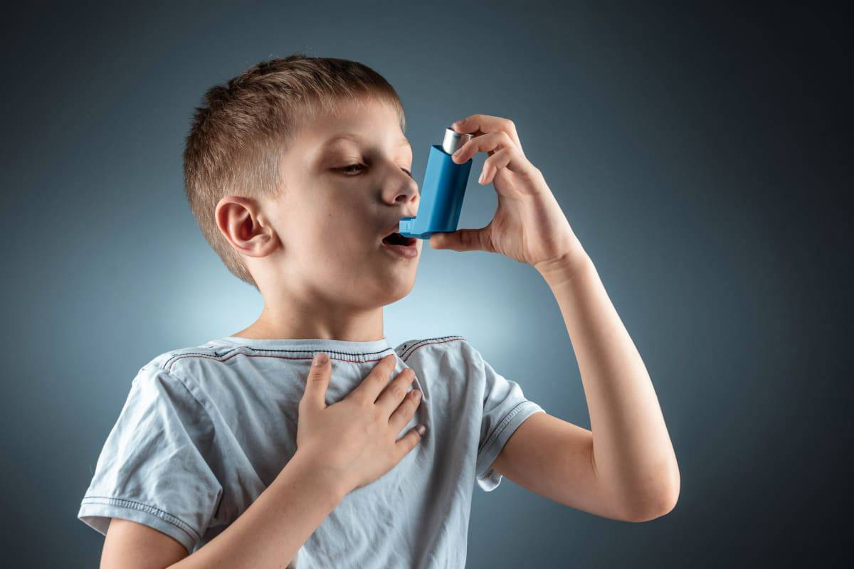 asma bambini smog