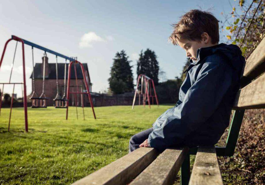 bambino di 4 anni perso
