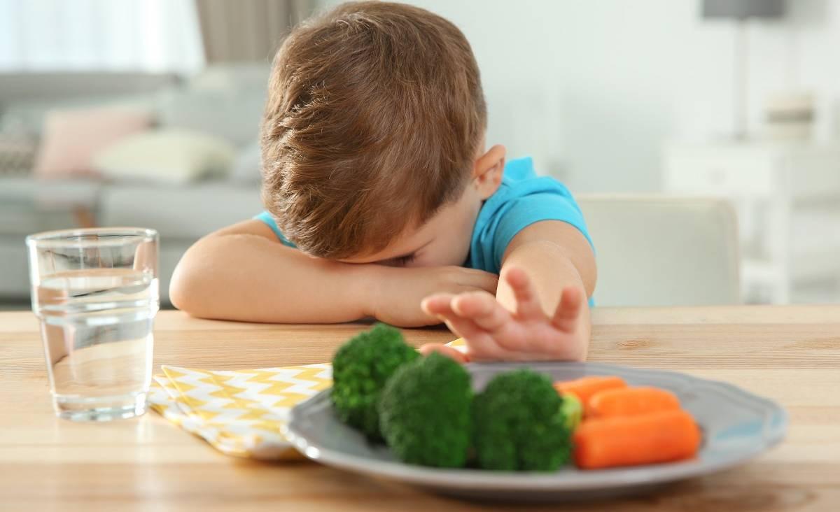 il mio bambino mangia sempre le stesse cose