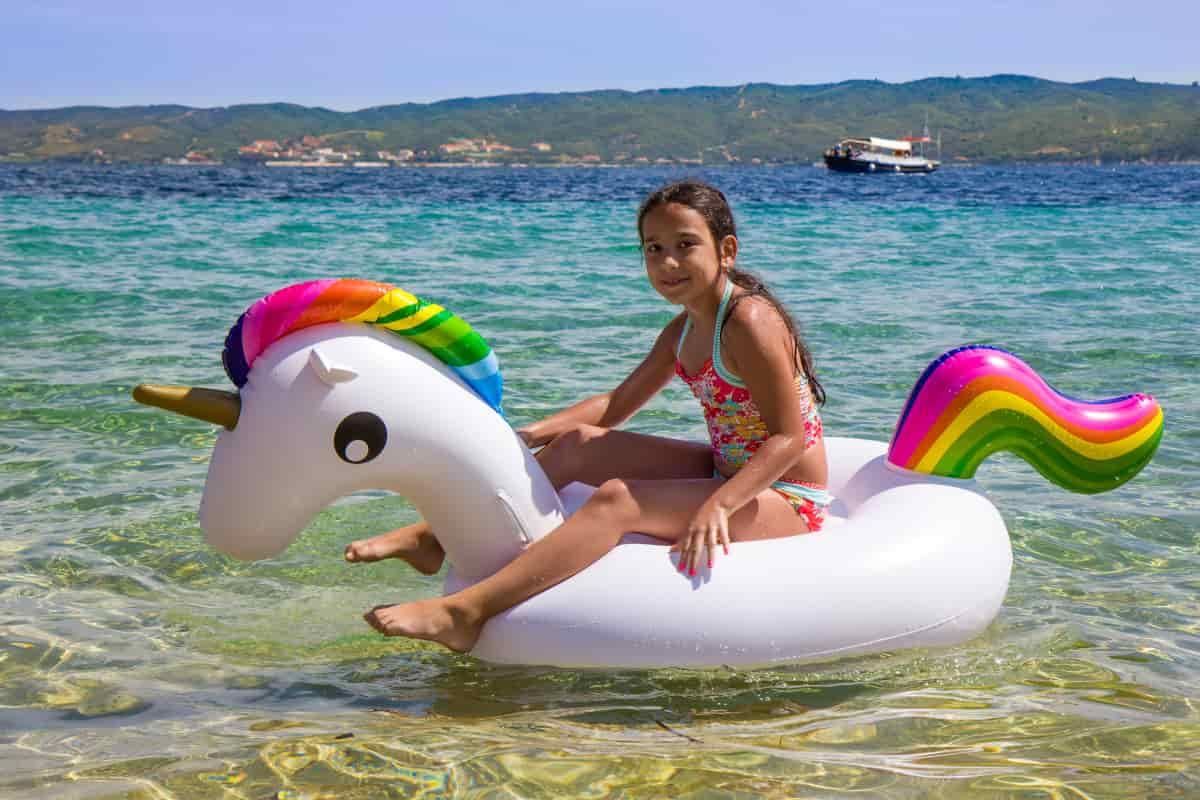 deriva unicorno gonfiabile