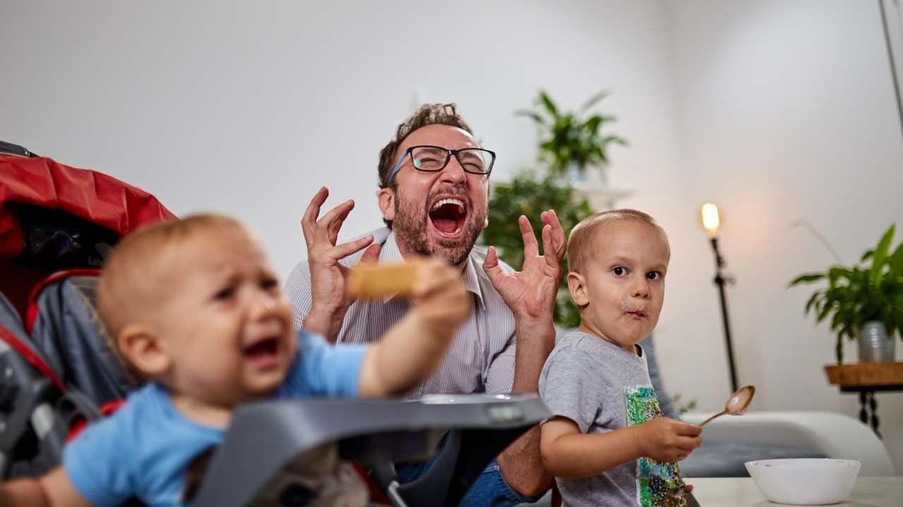 urlare bambini non idea