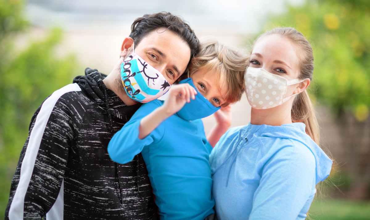 mascherine bambini moda