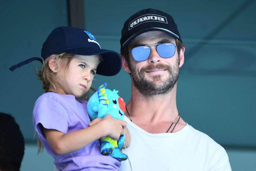 Chris Hemsworth papà