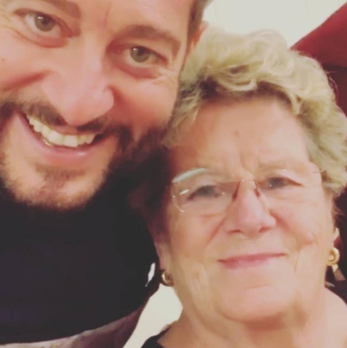 Enrico Papi mamma