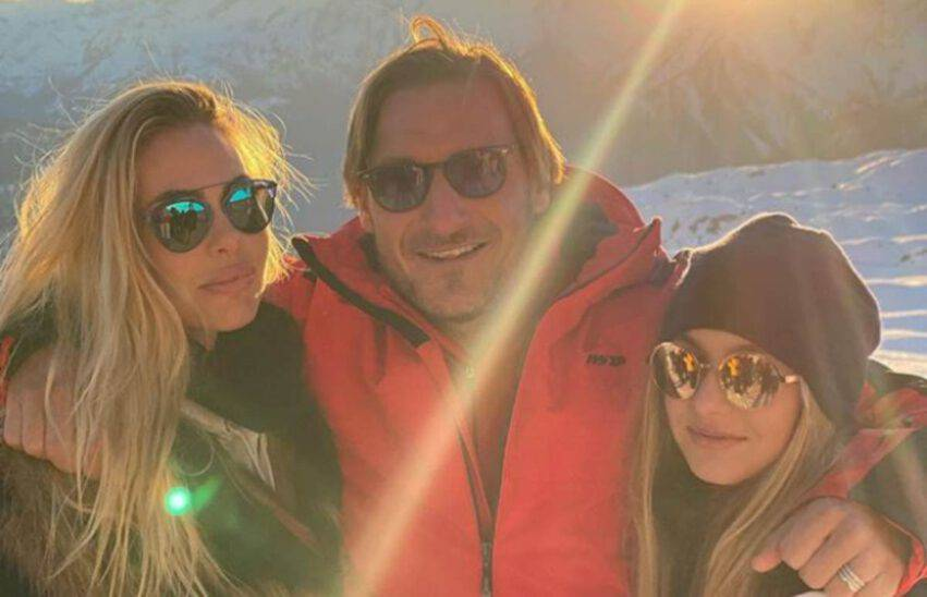 Francesco Totti su Chanel