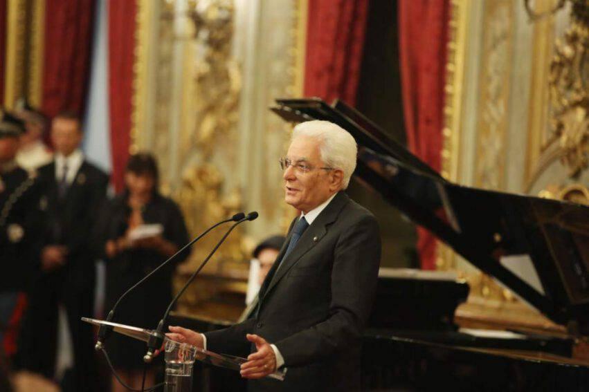 Sergio Mattarella inaugurazione anno scolastico