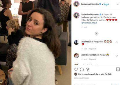 Vanessa, figlia di Luciana Littizzetto (fonte Instagram @lucianinalittizzetto)
