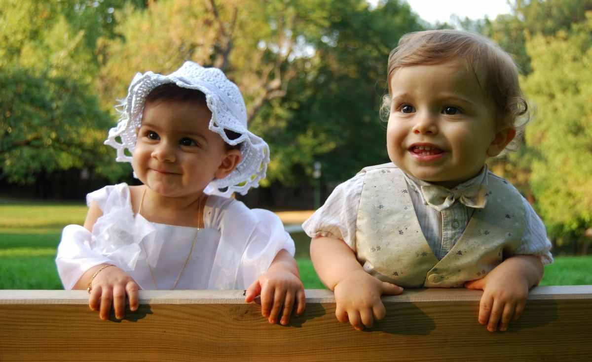 come vestire i bambini per un servizio fotografico