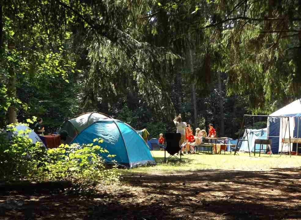 vacanza campeggio