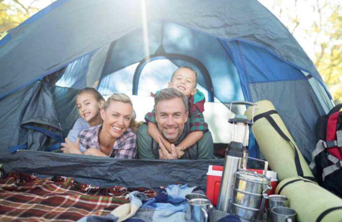 campeggio come organizzare