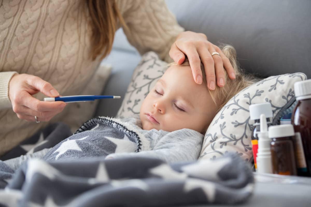 primo caso influenza bambino